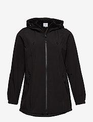 Zizzi - Softshell Jacket Water Repellent Soft and Warm - lichte jassen - black - 1