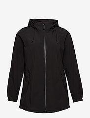 Zizzi - Softshell Jacket Water Repellent Soft and Warm - lichte jassen - black - 2