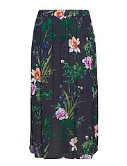 XANE, LONG, SKIRT - NIGHT SKY FLOWER