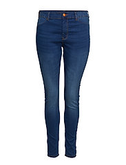 JANNA, LONG, JEGGING - BLUE