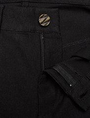 Zizzi - Trousers Plus Size Slim Fit Stretch - slim fit bukser - black - 3