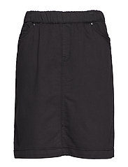 JODELIA, KNEE LENGHT, SKIRT - BLACK
