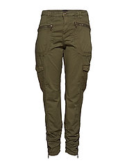 JODIANA, LONG, PANT - GREEN