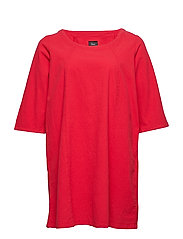 MARRAKESH, 3/4, TUNIC - RED