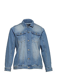 MACCALIA, LS, JACKET - LIGHT BLUE