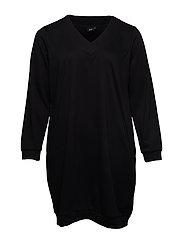 MGUNVUR, L/S, DRESS - BLACK