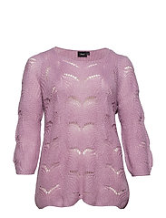 MMIRABELLA, 3/4, BLOUSE - LIGHT PURPLE