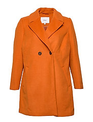 MFAME, L/S, COAT - DARK ORANGE