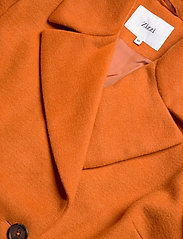 Zizzi - MFAME, L/S, COAT - wool jackets - dark orange - 2