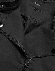 Zizzi - Faux Suede Jacket Plus Size Zipper Collar - lichte jassen - black - 5