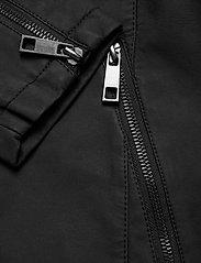 Zizzi - Faux Suede Jacket Plus Size Zipper Collar - lichte jassen - black - 6