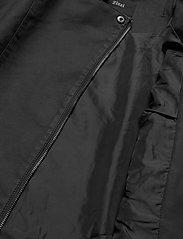 Zizzi - Faux Suede Jacket Plus Size Zipper Collar - lichte jassen - black - 7