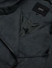 Zizzi - Faux Suede Jacket Plus Size Zipper Collar - lichte jassen - green - 6