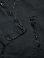 Zizzi - Faux Suede Jacket Plus Size Zipper Collar - lichte jassen - green - 7