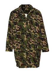MMUFFY, L/S, JACKET - ARMY