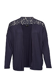 MSAMANTHA, L/S, CARDIGAN - DARK BLUE
