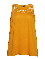 MJULIAN, S/L, TOP - YELLOW
