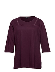 MHOLLY, 3/4, TOP - PURPLE
