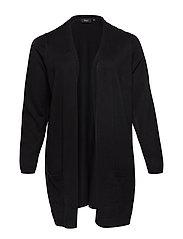 Cardigan, Long Sleeve - BLACK