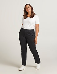 Zizzi - Emily Jeans Plus Size Slim Fit Size Regular Waist - slim jeans - black - 0