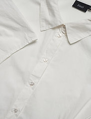 Zizzi - Shirt Puff Sleeves Plus Size Cotton Buttons - overhemden met korte mouwen - off-white - 5