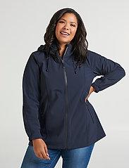 Zizzi - Softshell Jacket Water Repellent Soft and Warm - lichte jassen - dark blue - 0