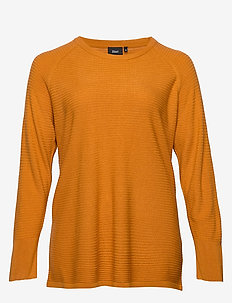 CAAYA, L/S, PULLOVER - HONEY GINGER