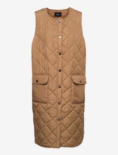 CACAMP - puffer vests - brown