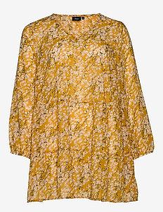 EMARLEY, L/S, TUNIC - pitkähihaiset puserot - yellow