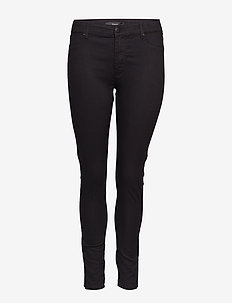 JANNA, LONG, JEGGING - BLACK