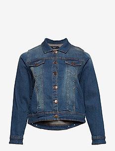 Jacket, Long Sleeve - farkkutakit - blue