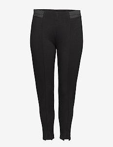 JCURL, CROPPED, LEGGING - leggings - black