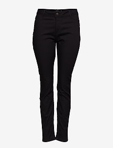 Nille Jeans Plus Size High Waist Slim Fit - skinny jeans - black