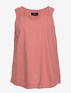 JELENA, SL, BLOUSE - bluzki bez rękawów - rose