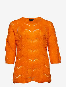 MMIRABELLA, 3/4, BLOUSE - ORANGE