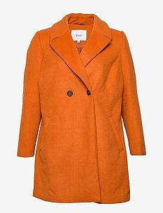 MFAME, L/S, COAT - villakangastakit - dark orange