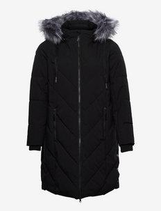 MLUXA, L/S, COAT - talvemantlid - black
