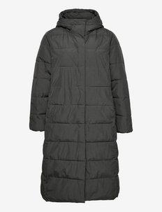 MUNI, L/S, LONG COAT - talvemantlid - dark grey