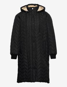 MMONDAY, L/S, COAT - talvemantlid - black