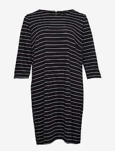 MMICKY, 3/4, DRESS - BLACK
