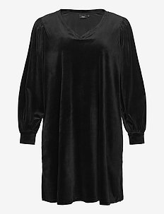 MGISELA, L/S, ABK DRESS - short dresses - black