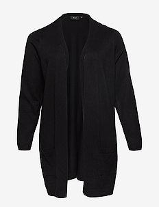 Cardigan, Long Sleeve - neuletakit - black