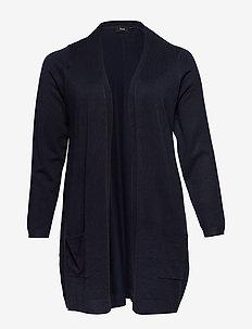 Cardigan, Long Sleeve - neuletakit - dark blue