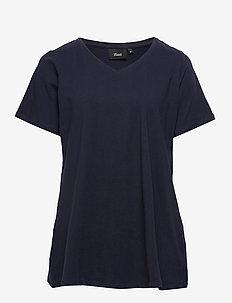 S/S T-SHIRT NOOS - basic t-shirts - dark blue