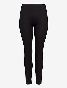 Leggings Plus Size Slim Fit Stretchy Basic - collants - black