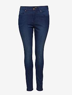 Jeans, long, AMY, super slim - BLUE