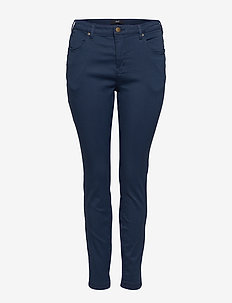 Jeans, long, AMY, super slim - DARK BLUE