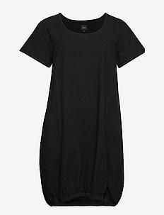 MMARRAKESH, S/S, DRESS - lyhyet mekot - black