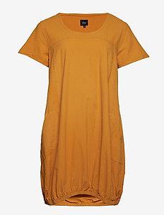 MMARRAKESH, S/S, DRESS - lyhyet mekot - yellow