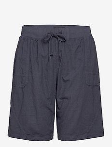 Shorts Cotton Plus Size Pockets - casual korte broeken - mood indigo